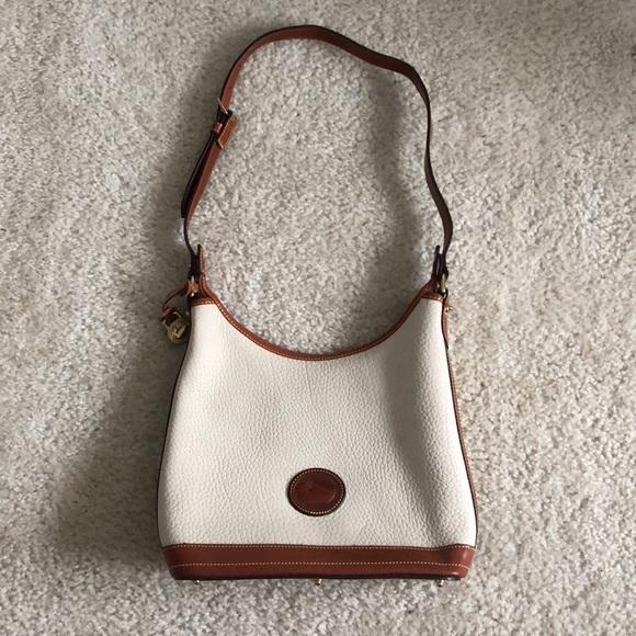 Dooney & Bourke Handbags - Dooney & Bourke cream purse